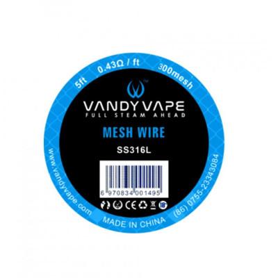 Vandy Vape Mesh SS316 - 1,5 m