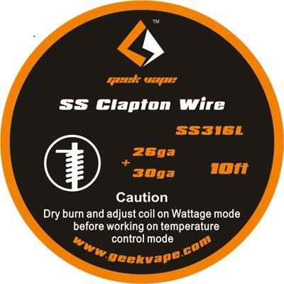 Geekvape SS316 Clapton...